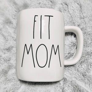 "🆕Rae Dunn ""FIT MOM"" Mug"
